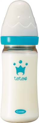 TETEO Wide-neck Feeding Bottle PPSU 240ml
