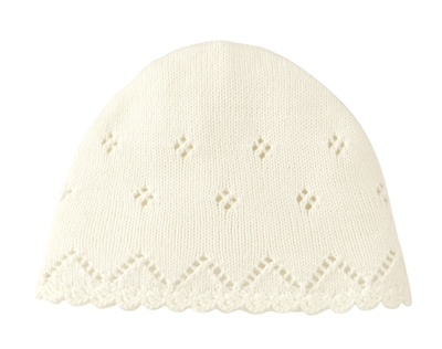 Knit Cap, White