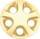 Milimili Wheel Cover, Gold